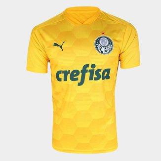 Camiseta Puma Palmeiras Replica Gk Jersey 1  Masculino