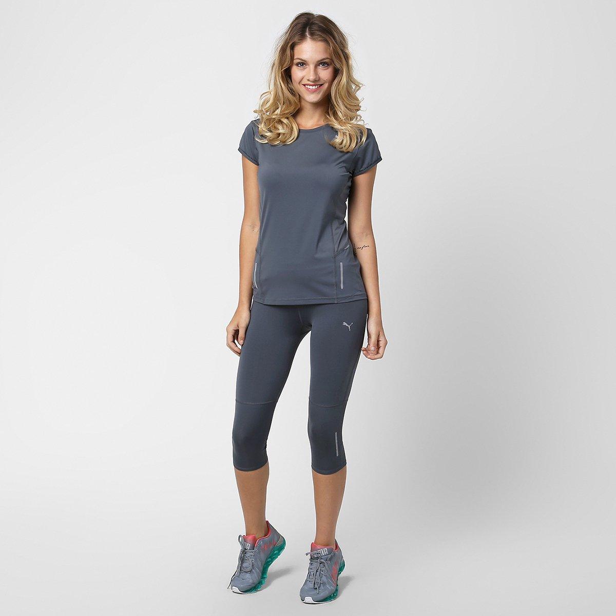 Camiseta Puma Pure Fitted - Compre Agora  829c4588f549d