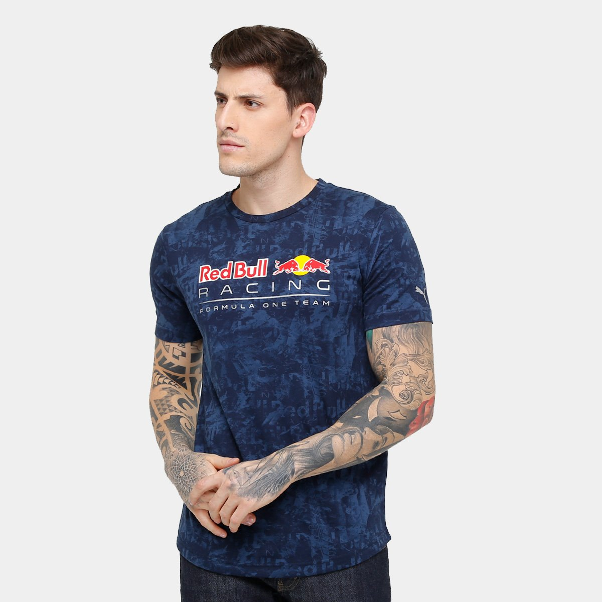 ... Camiseta Puma Red Bull Racing Allover Masculina - Compre Agora ...  d82bf5b0189f6f ... 1c5bbdb7b5c