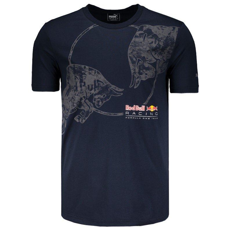 e110994d1bde2 Camiseta Puma Red Bull Racing Escudo - Compre Agora