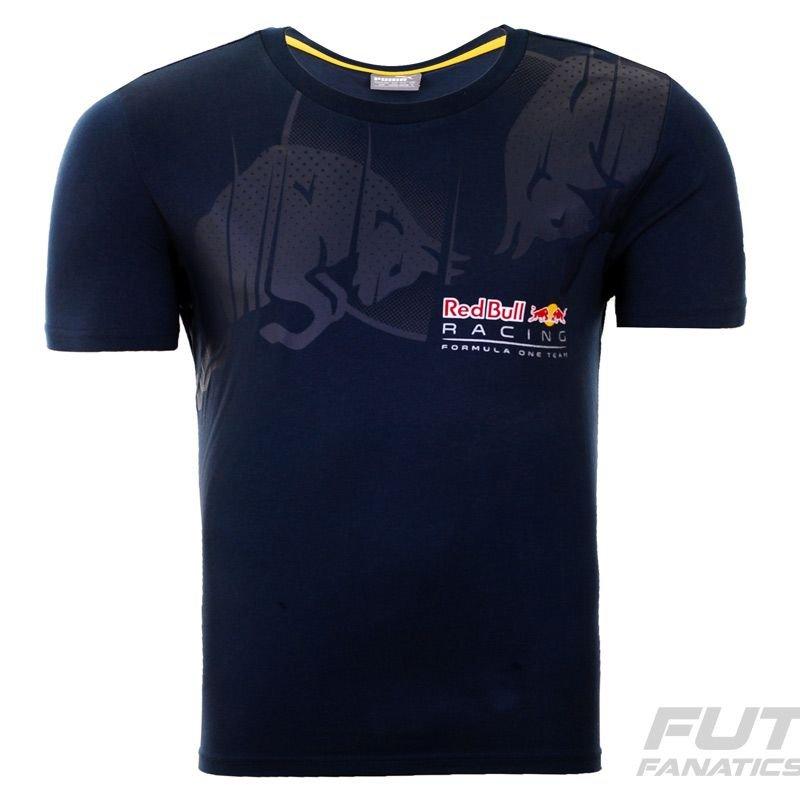 Camiseta Puma Red Bull Racing Infiniti Graphic Marinho - Compre Agora  d14305c13d2