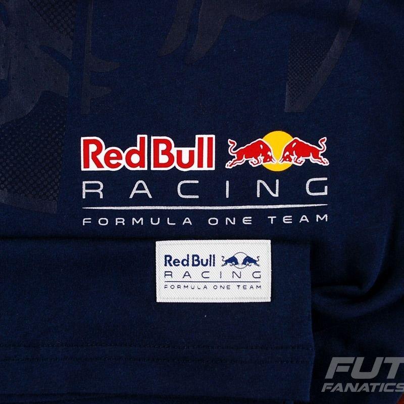 cd7a5313f4 Camiseta Puma Red Bull Racing Infiniti Graphic Marinho - Compre ...