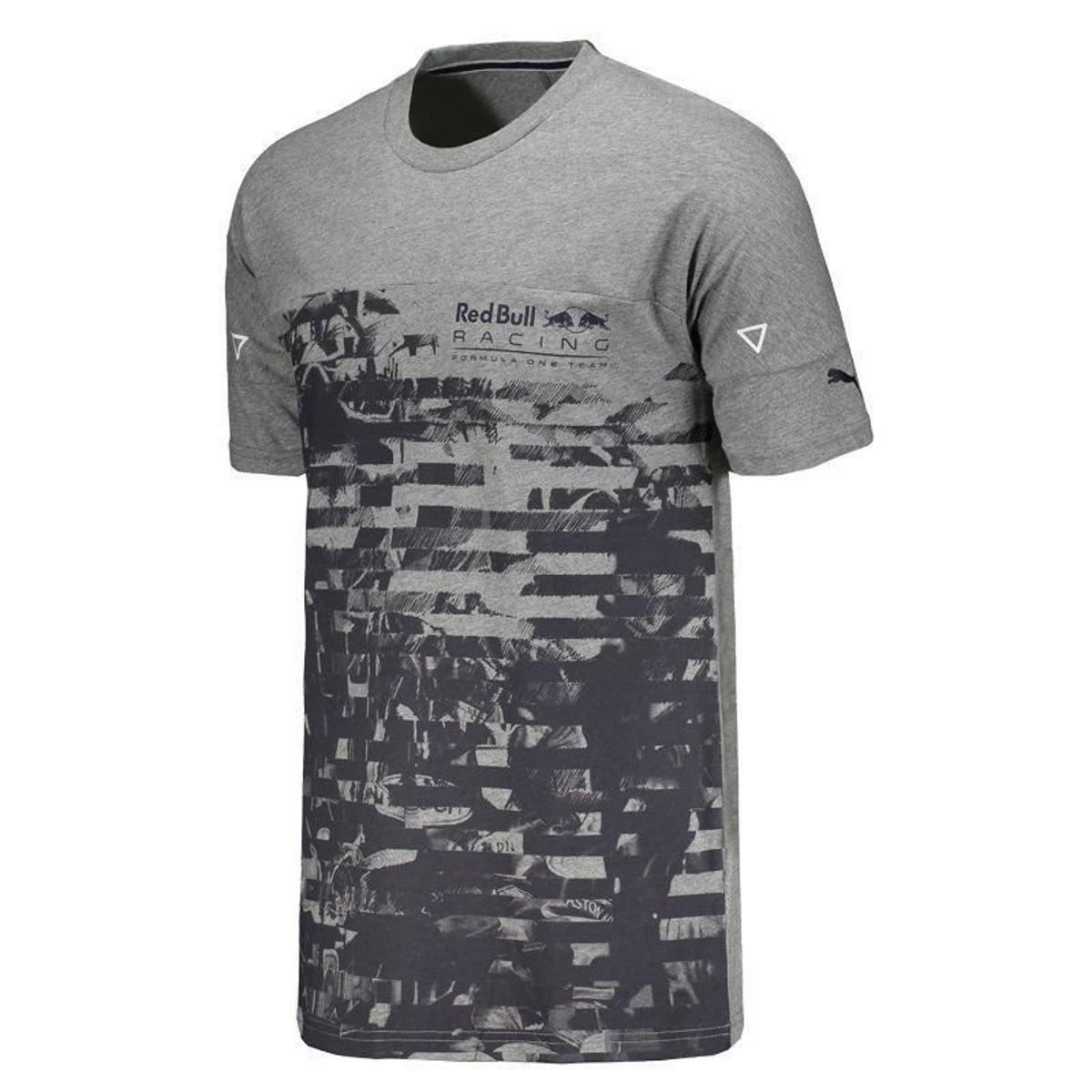 822def11b2 Camiseta Puma Red Bull Racing Life Graphic Masculina - Compre Agora ...