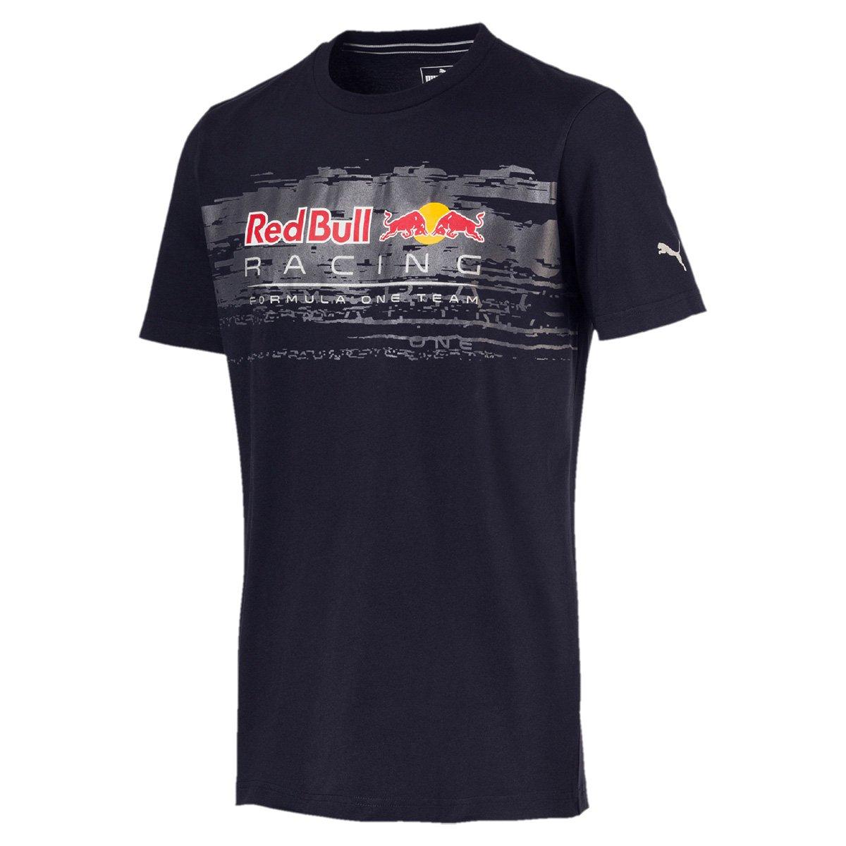 cdcbcc3018533 Camiseta Puma Red Bull Racing Logo Tee Masculina - Marinho - Compre Agora