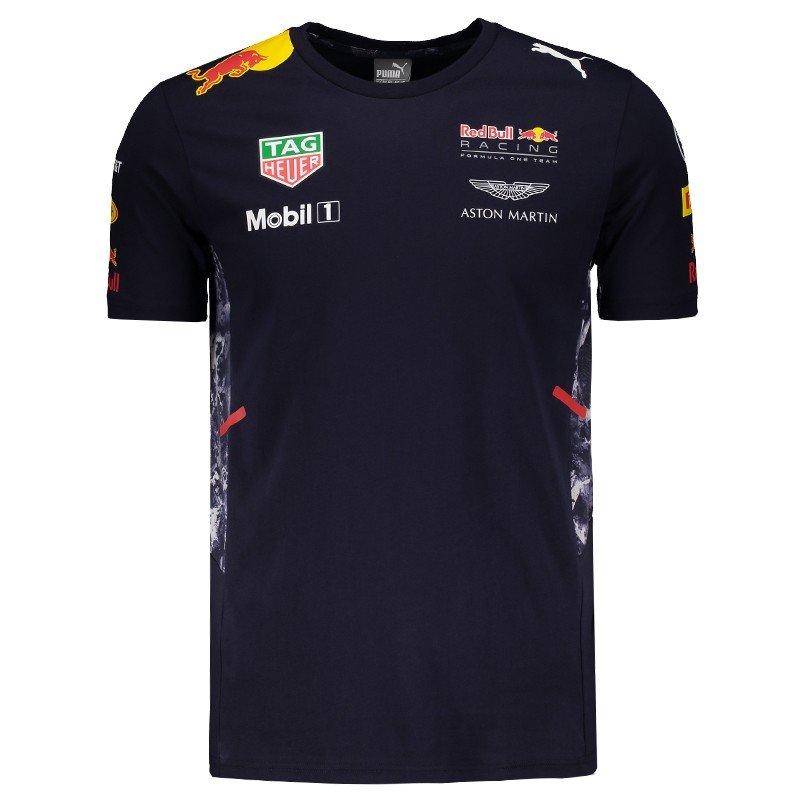 Camiseta Puma Red Bull Racing Team - Compre Agora  a61e6bb7829