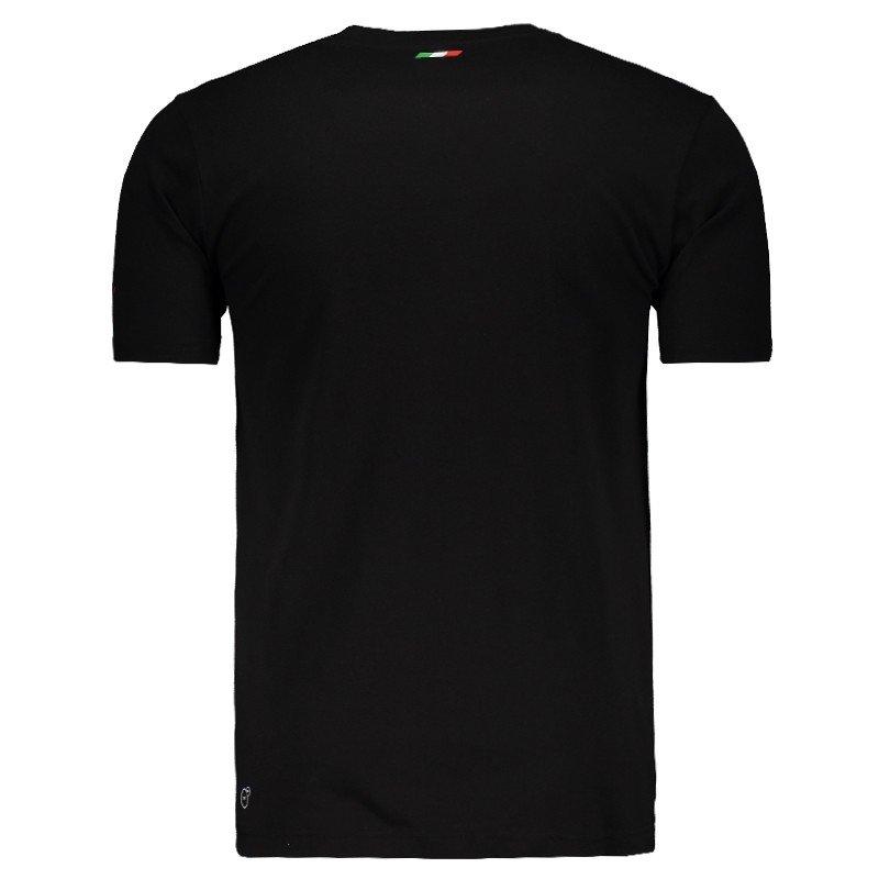 Camiseta Puma Scuderia Ferrari Big Shield - Preto - Compre Agora ... 67c6a3388f9