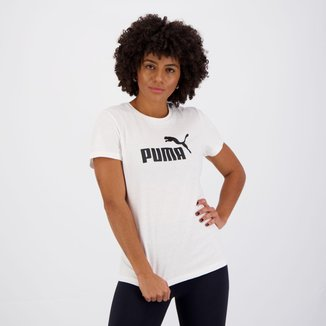 Camiseta Puma Still ESS Feminina Branca