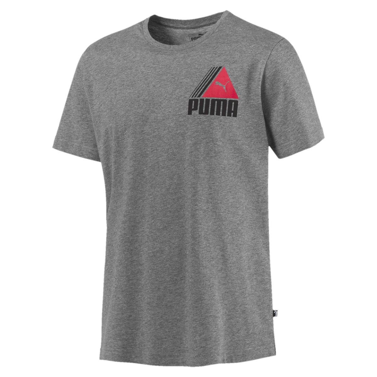 Camiseta Puma TRI Retro Masculina - Cinza - Compre Agora  a0a1d88494bc0