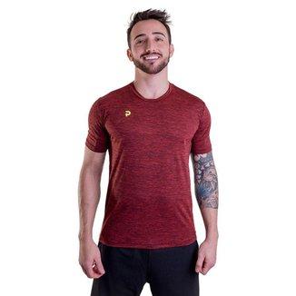 Camiseta Punnto Masculina Manga Curta Poliamida