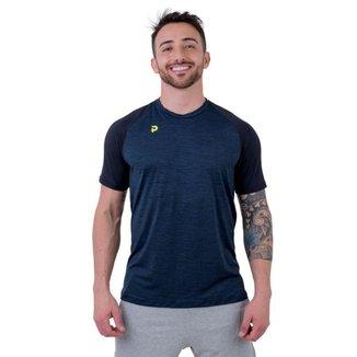 Camiseta Punnto Masculina Manga Raglan Poliamida Plank