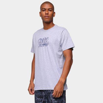 Camiseta Qix Básica Logo Riscos