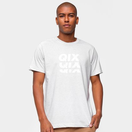 Camiseta Qix Logo Mirror