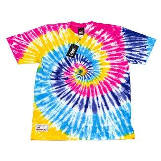 Camiseta Qix Print Tie Dye