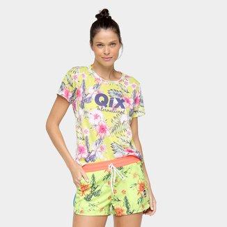 Camiseta Qix Printed Nature