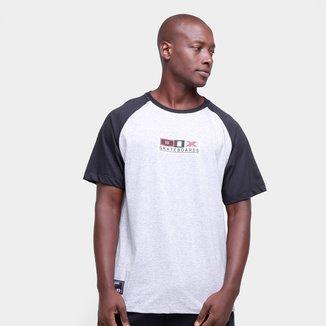 Camiseta Qix Raglan Logo Box