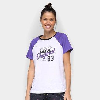 Camiseta Qix Raglan Old School