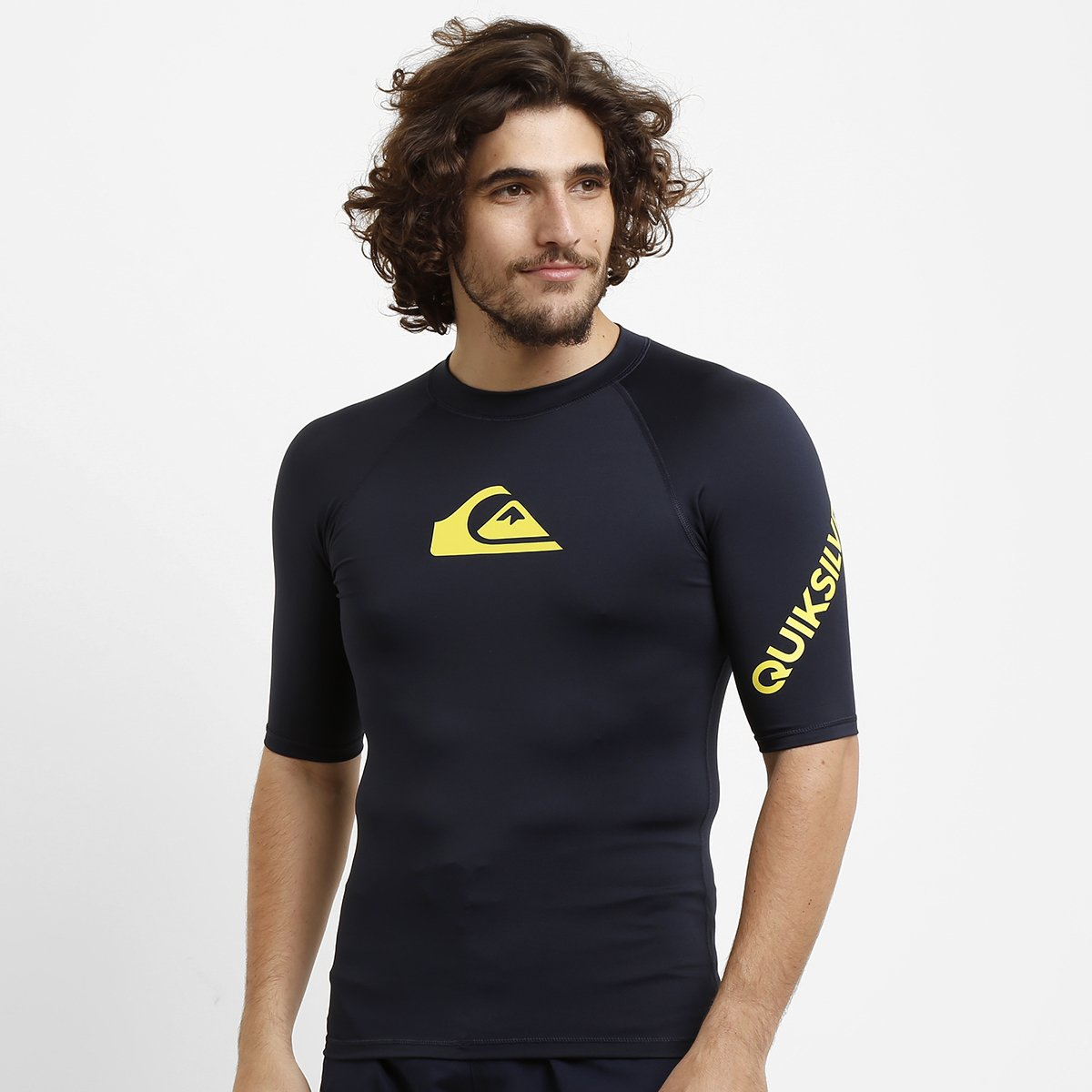 ae971d6c62370 Camiseta Quiksilver All Time - Compre Agora   Netshoes