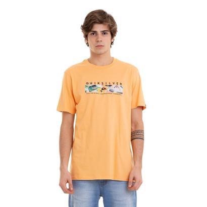 Camiseta Quiksilver BasDistant Fortune Masculina