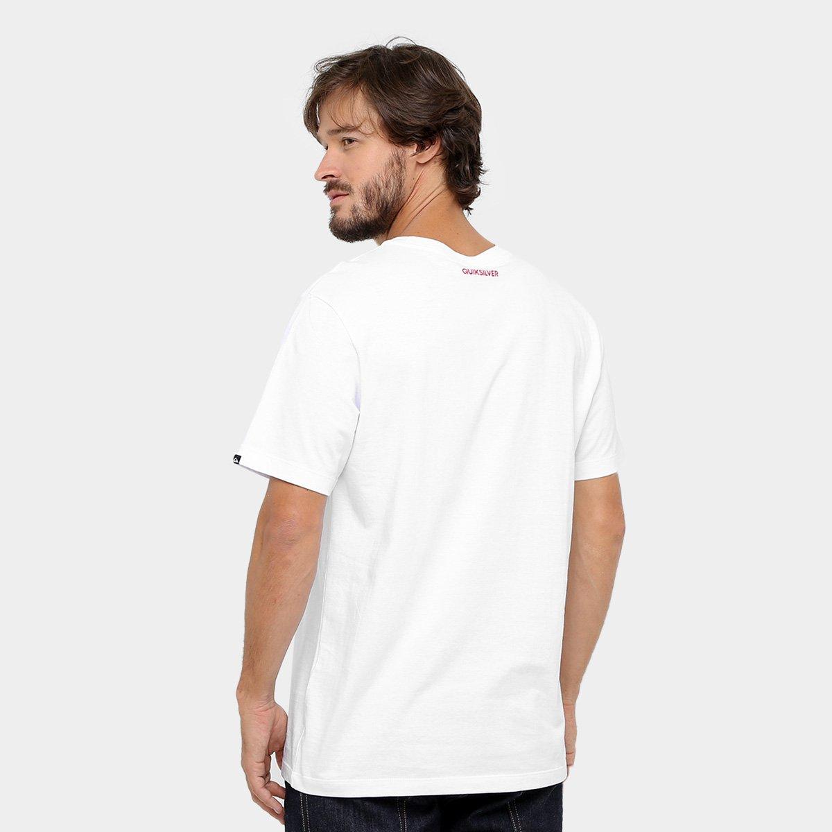 Camiseta Quiksilver Basica Jamaica  Camiseta Quiksilver Basica Jamaica ... 72629c3bc15bf