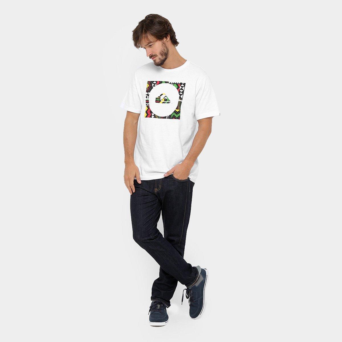 Camiseta Quiksilver Basica Jamaica - Compre Agora  88c4bf1f92e43