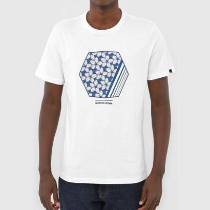 Camiseta Quiksilver Bubble Dreams Masculina