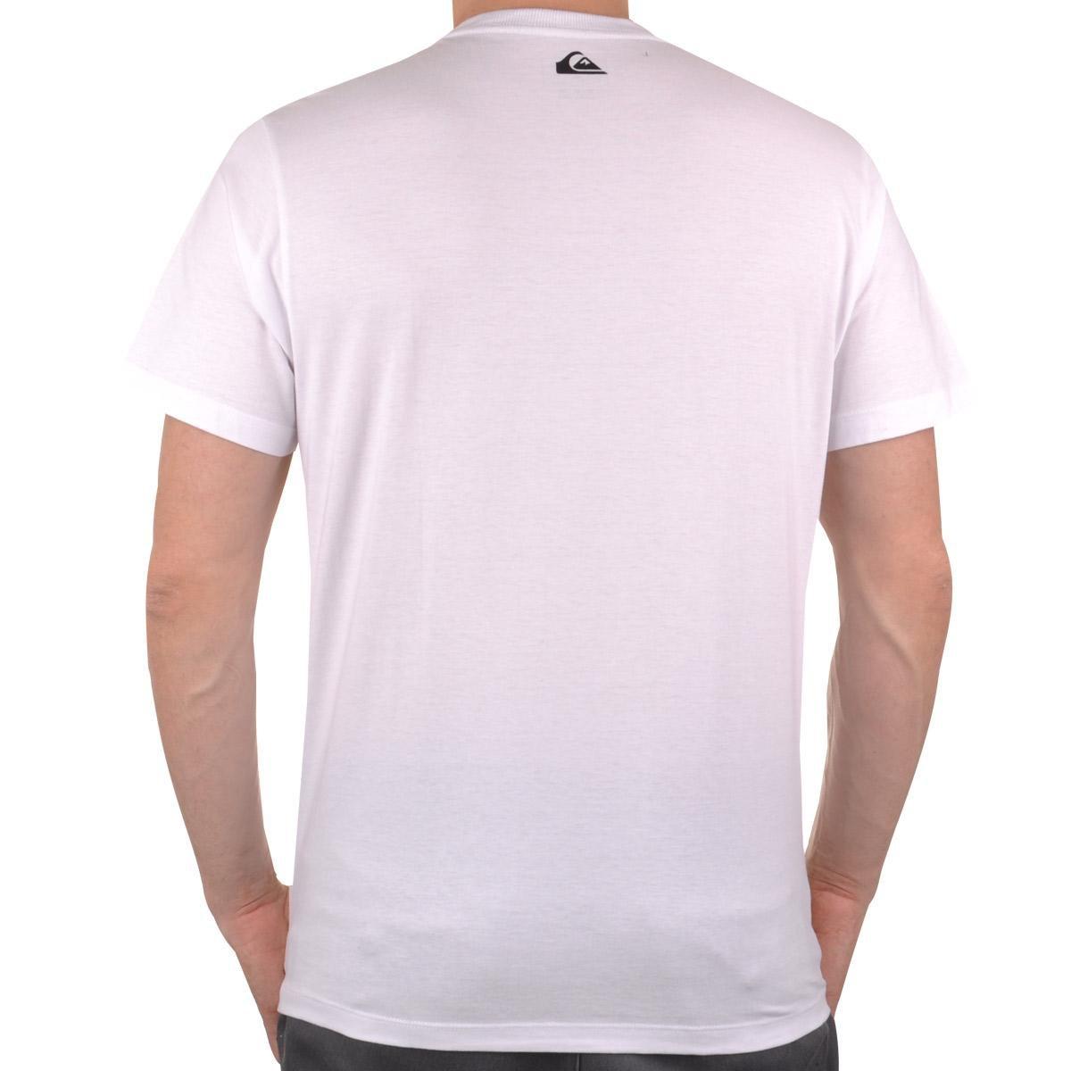 Camiseta Hurray Monkey Quiksilver Branco Camiseta Masculino Quiksilver Uxq6zwU