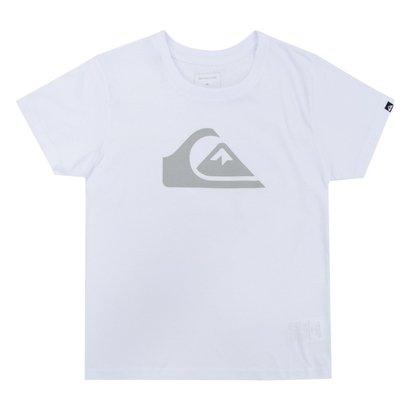 216874ba0c65d A Camiseta Quiksilver Infantil Kids Logo é simples e bonita