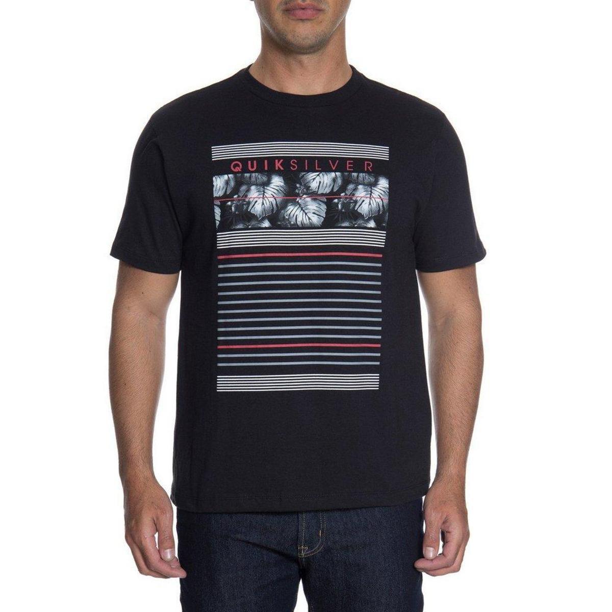 Camiseta Quiksilver Line Down - Compre Agora  01095e4eb66