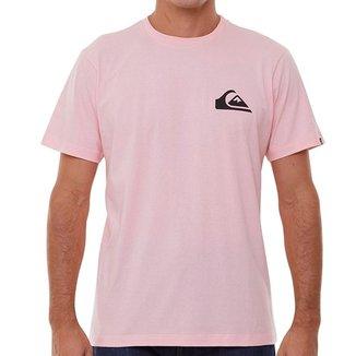 Camiseta Quiksilver New Everyday Rosa Claro GG