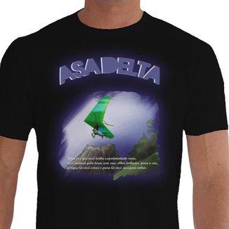 Camiseta Quisty Asa Delta 100% Algodão Premium CMCAD0011 - XGGPR