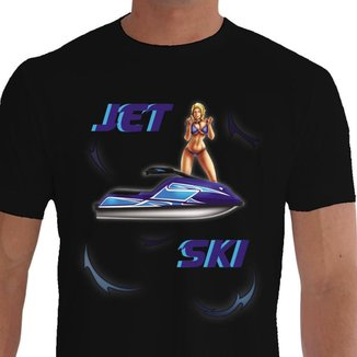 Camiseta Quisty Jet Ski 100% Algodão Premium CMC-JSK0005 - XGGPR