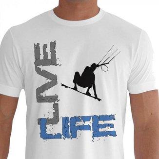 Camiseta Quisty Kite Suf 100% Algodão Premium CMC-KTS0018 - XGGPR