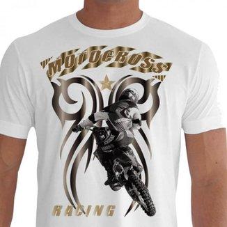 Camiseta Quisty Motocross 100% Algodão Premium CMCMOTO0046 - GGPR