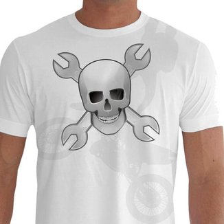 Camiseta Quisty Motocross 100% Algodão Premium CMCMOTO0060 - GGPR