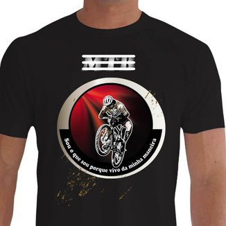 Camiseta Quisty Mountain Bike 100% Algodão Premium CMC-MTB0008