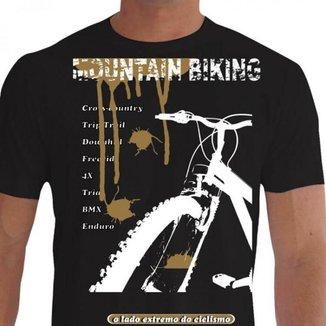 Camiseta Quisty Mountain Bike 100% Algodão Premium CMC-MTB0030