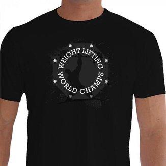 Camiseta Quisty Musculação 100% Algodão Premium CMCMUSC0001 - GGPR