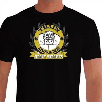 Camiseta Quisty Musculação 100% Algodão Premium CMCMUSC0007 - GGPR