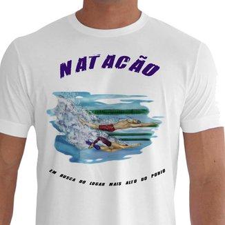Camiseta Quisty Natação 100% Algodão Premium CMCNTCAO0020 - GGPR