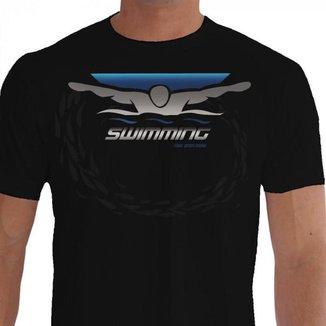 Camiseta Quisty Natação 100% Algodão Premium CMCNTCAO0025 - GGPR