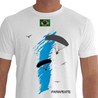 Camiseta Quisty Parapente 100% Algodão CMC-PAPT0008 - XGGPR