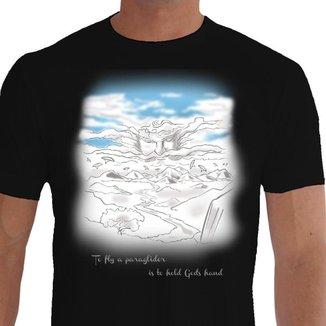 Camiseta Quisty Parapente 100% Algodão CMC-PAPT0011 - XGGPR