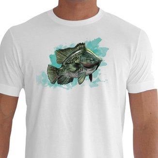Camiseta Quisty Pesca 100% Algodão Premium CMCPESPG01386