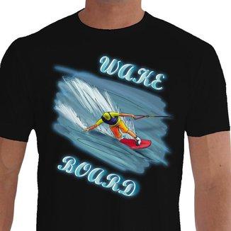 Camiseta Quisty Wake Board 100% Algodão Premium CMC-WABO0006-XGGPR