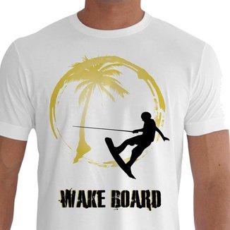Camiseta Quisty WakeBoard 100% Algodão Premium CMCWakeBoard0005 - GPR