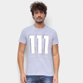Camiseta RB111 Rubens Barrichello Dirty Masculina