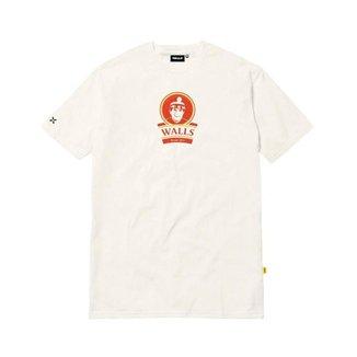 Camiseta Real Branco Off White