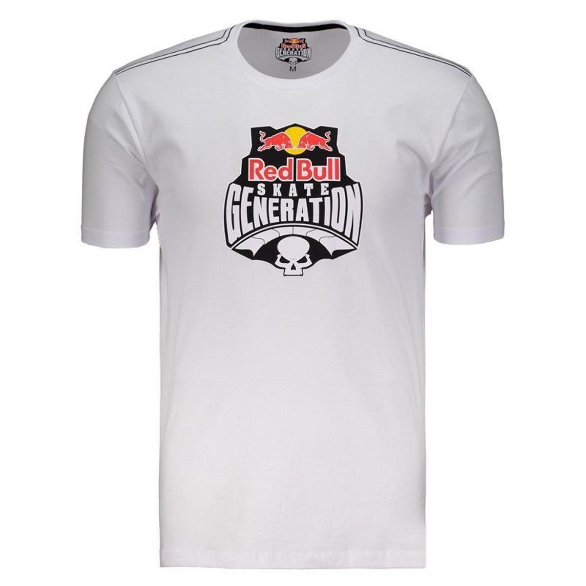 144211a3bd30e Camiseta Red Bull Generation Masculina - Branco - Compre Agora ...