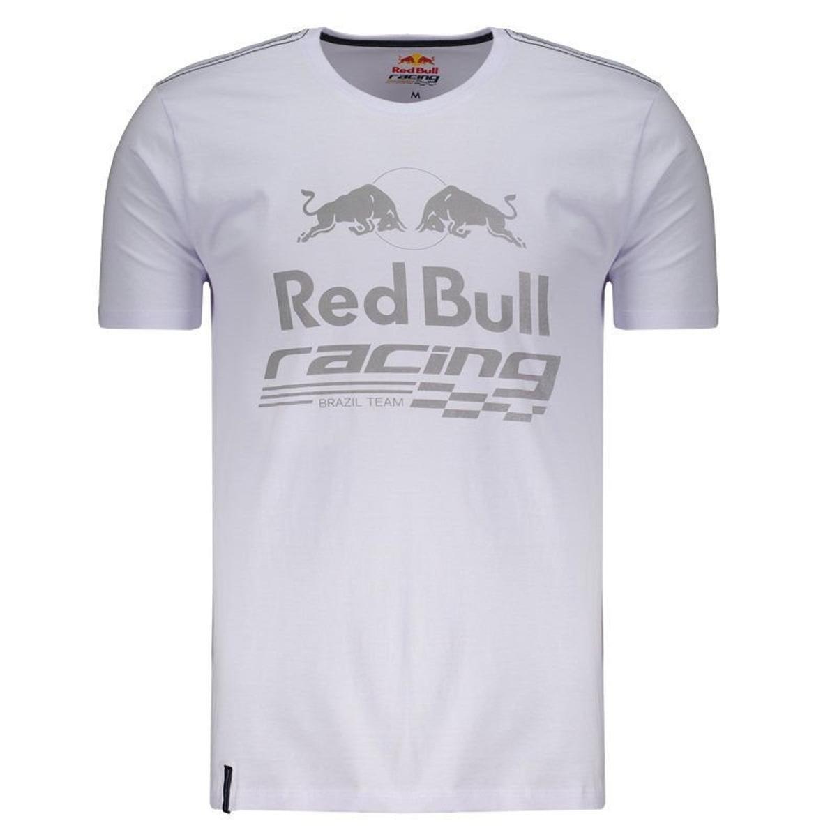 Camiseta Red Bull Racing Det Masculina - Branco - Compre Agora ... 8ce7dad01e5
