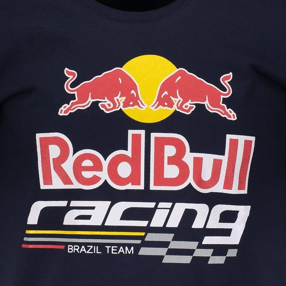 f59813f5f3 Camiseta Red Bull Racing Masculina - Azul - Compre Agora